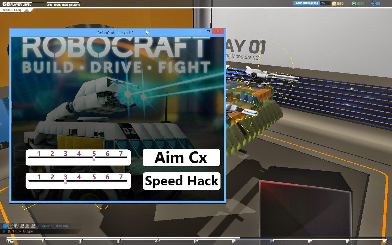 Robocraft Hack